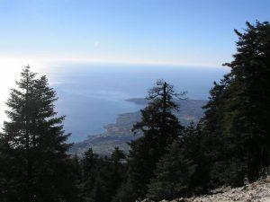 Ainos Southwest view